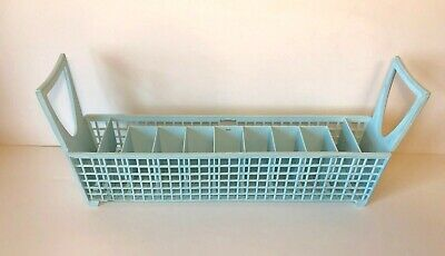 VTG Whirlpool KitchenAid Dishwasher Cutlery Silverware Basket Model 10126 LtBlue