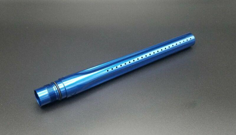 """GOG/Smart Parts Freak XL Barrel Front/Tip - Gloss Blue 14"""" - Paintball"""