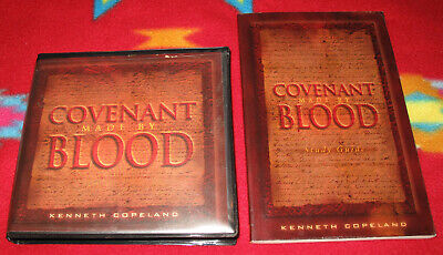 COVENANT MADE BY BLOOD With Study Guide By Kenneth Copeland (6 Messages, 7-CDs)