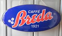 Insegna Caffè Breda Sign Coffee Breda Made In Italy -  - ebay.it