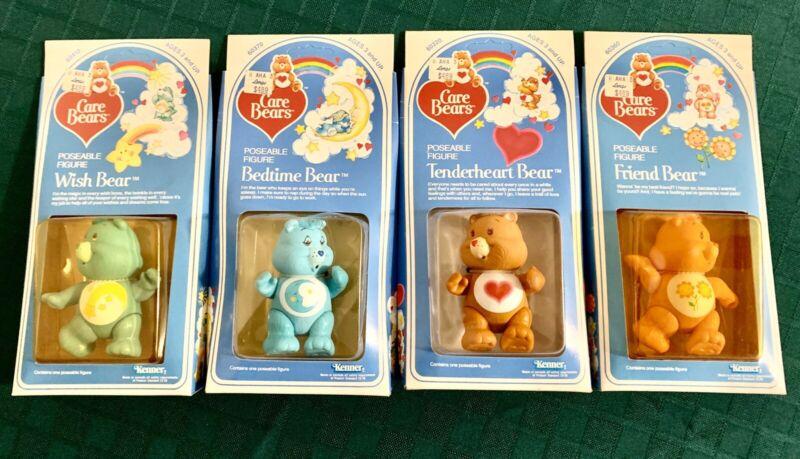 Vintage Care Bear Figurines_Lot Of 4