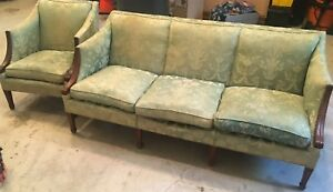 Antique Barrymore Sofa and Chair set