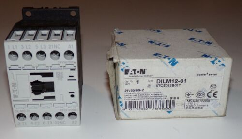 Eaton Moeller DILM12-01 Contactor XTCE012B01 - NEW