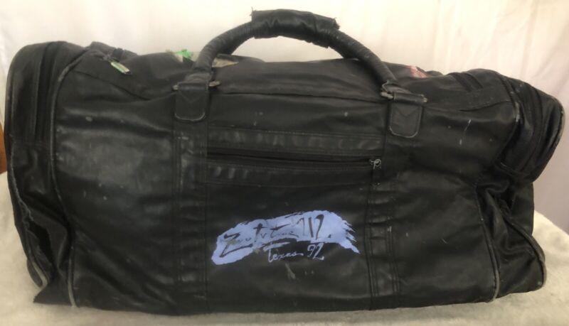 U2 1992 ZooTV Tour Texas Faux Leather Travel Bag