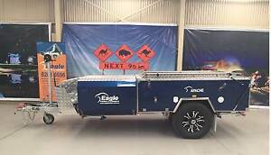 APACHE HARD FLOOR CAMPER TRAILER- EAGLE-FREE $1,000 FUEL Para Hills West Salisbury Area Preview