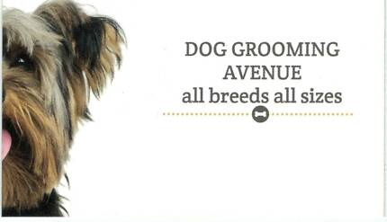 DOG GROOMING AVENUE