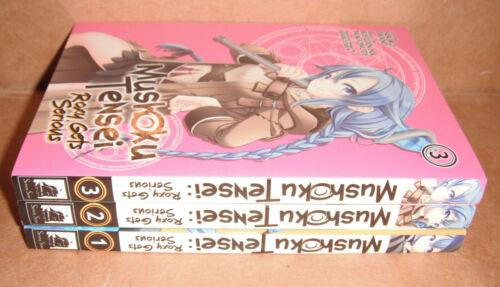 Mushoku Tensei: Roxy Gets Serious Manga Vol. 1,2,3  English