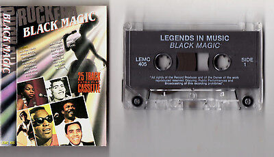BLACK MAGIC LEGENDS - CASSETTE TAPE ALBUM (MAJOR LANCE,MAXINE BROWN,BEN E KING,B