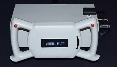 CH Products Virtual Pilot Pro Yoke Joystick Flight Simulator Game Port Serial Ch Products Flight Simulator Yoke