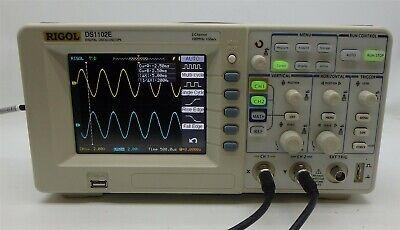 Rigol Ds1102e Digital Oscilloscope 100mhz 1 Gsas 2 Channels 1mpts 5.7 Tft Usb