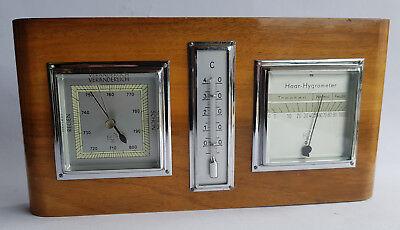 MOCO Wetterstation Barometer Hygrometer Haar-Hygrometer Thermometer