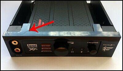 Creative X-Fi Titanium I/O Drive - Sound Blaster - Fatal1ty - Auzentech - SB1110