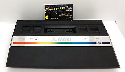 Vintage 80's Atari 2600 Jr Mini II Video Game Console Only
