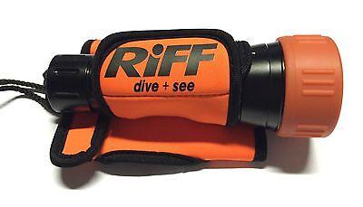 RIFF Handschlaufe Lampenhalterung für RIFF uvm. Tauchlampen (orange) - NEU !!!
