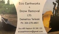 Snow & ice removal  $90 per hour
