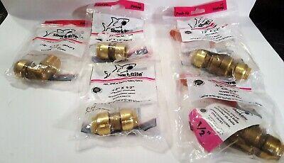5 Original Sharkbite 12 Ball Valves - Coupler - Elbow - Female Adapter - 12