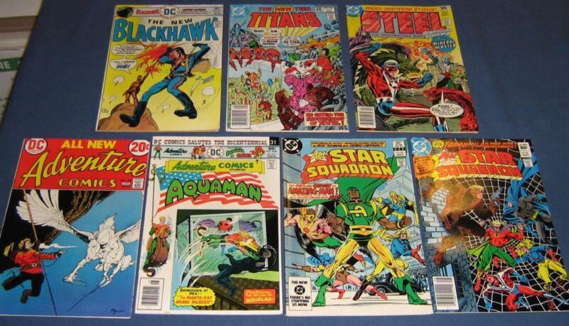 7 Miscellaneous Bronze Age DC Comics