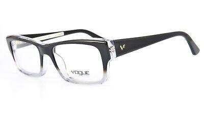 VOGUE Eyewear Brille mod. VO2739 1904 Eye Frame Square Black Clear Occhiali NOS