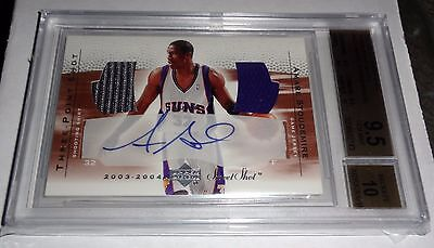 2003-04 AMARE STOUDEMIRE UD Sweet Shot Three Point Shot Autograph BGS 9.5 GEM