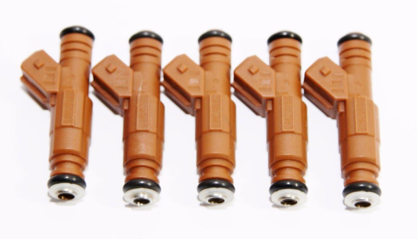 1 Piece Fuel Injectors for Volvo 98-07 V70//99-04 C70//01-09 S60 2.4L//2.5L I5