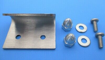 Stainless Door Latch Clip For Hobart 5801 6614 6801 Meat Saws. Replaces 437608
