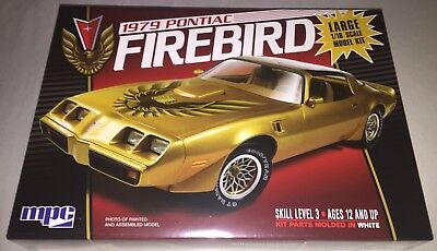 MPC 1979 Pontiac Firebird 1/16 scale plastic model car kit new 862 *