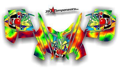 2010 - 2014 POLARIS PRO RMK - RUSH Decal Sticker Graphics Kit Joker Psycho Clown