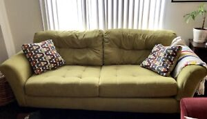 Large Green Couch