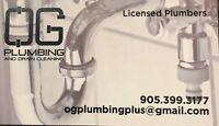 OG Plumbing & Draincleaning-Available NOW-No job too small!