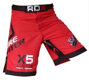 RDX-Fight-Shorts-UFC-MMA-Grappling-Short-Kick-Boxing-Muay-Thai-Pants-Gym-Wear-RD