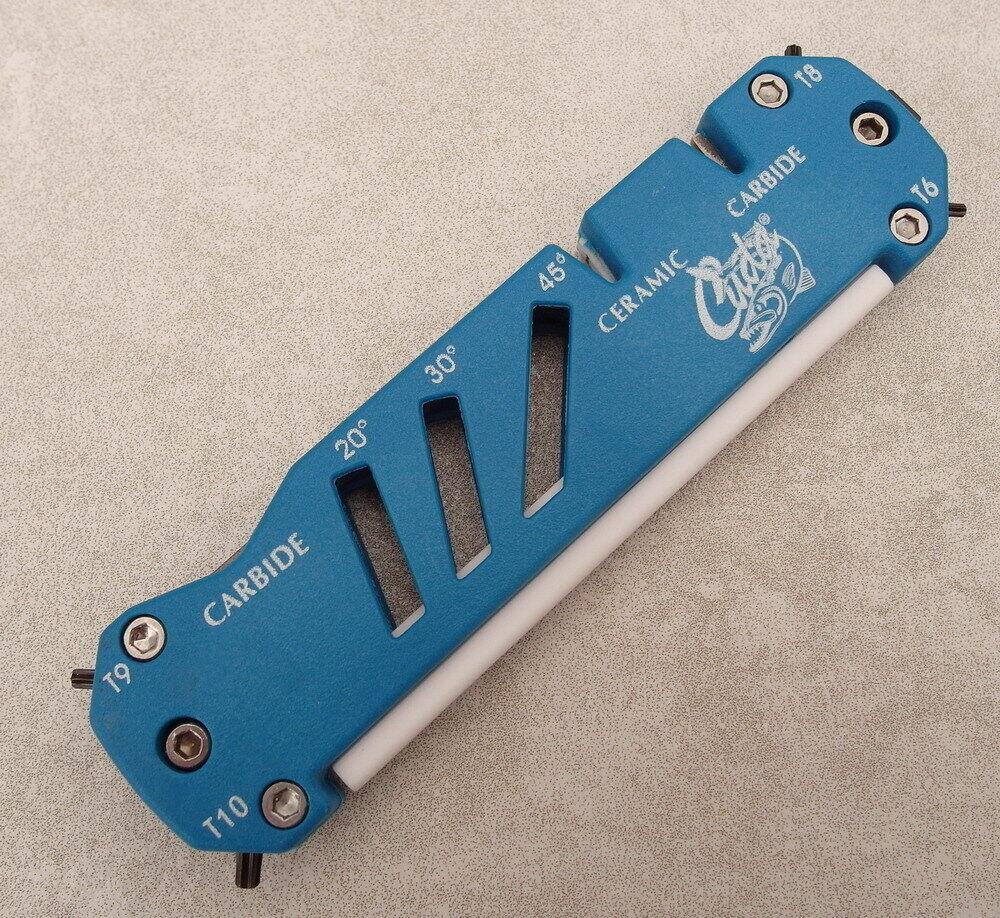 CUDA Sharpener - Messerschärfer  Scheren- und Angelhakenschärfer - Torx