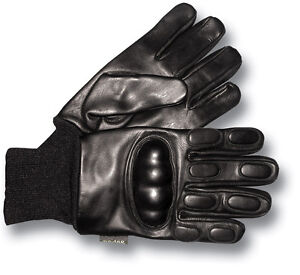 1-NEW-PAIR-CARBON-KNUCKLE-LEATHER-NI-GLOVES-71101