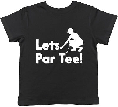 Lets Par Tee Golf Boys Girls Kids Childrens T-Shirt ()