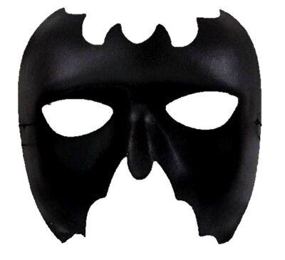 Black Bat Half Mask Batman Batwoman Super Hero Halloween Costume Accessory Sexy](Batwoman Halloween)