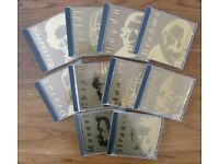 Set of 10 Apollo Classics Gold CD DDD