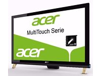 """Acer T231H 23"""" MultiTouch LED LCD Monitor, 1080p, inputs: VGA +DVI (w/HDCP) +HDMI, MINT, can deliver"""