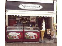ice cream parlour/coffee shop for sale