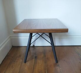 Pair of up cycled teak side tables FREE DELIVERY