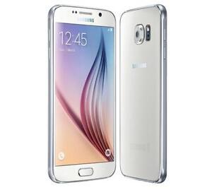 Samsung Galaxy S6 32gb White/Black Sapphire Unlocked in mint condition!