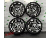 GENUINE BMW G30/31 664M 19inch ALLOY WHEELS