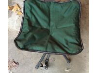Folding Seat With Shoulder Strap