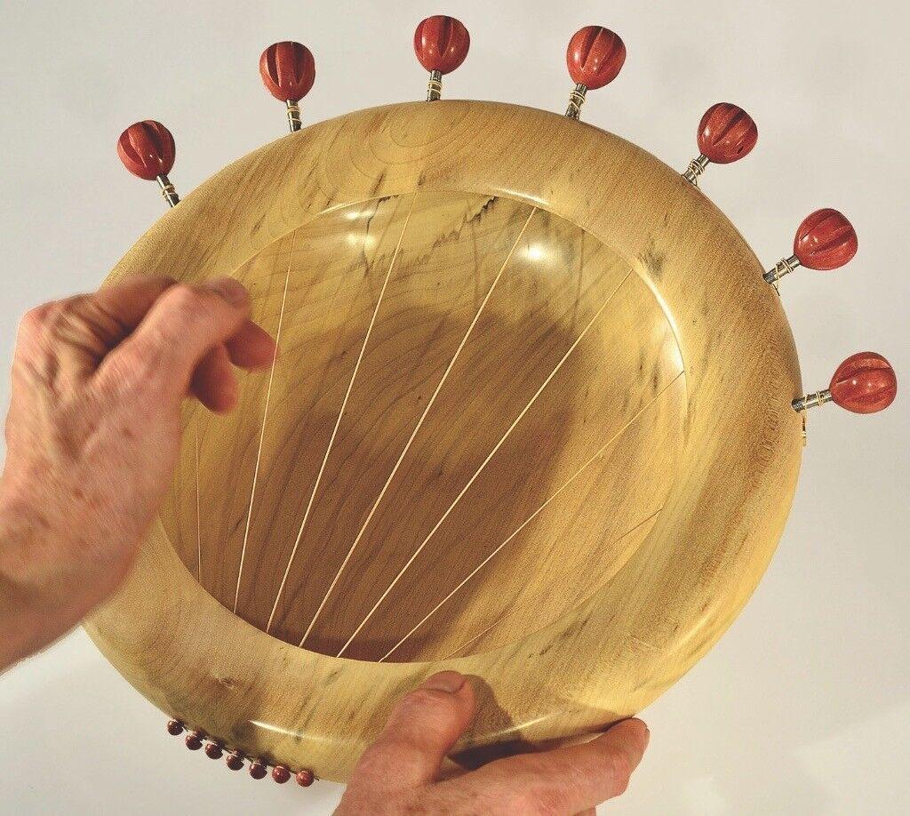 Sycamore Heart Sounding bowl by Tobias Kaye
