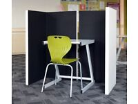 Portable Polyester Acoustic Screens (studio recording, classroom & office)