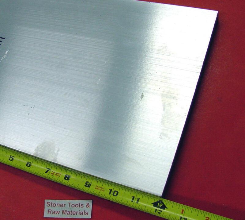 """1/2"""" X 8"""" X 12"""" ALUMINUM 6061 FLAT BAR SOLID T6511 New Mill Stock Plate .50""""x8.0"""