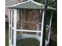 Wooden aviary - already dismantled £65
