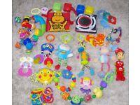 Bundle Baby Toys & Rattles