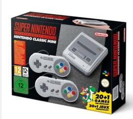 Super Nintendo Entertainment System - SNES Mini / 250+ games