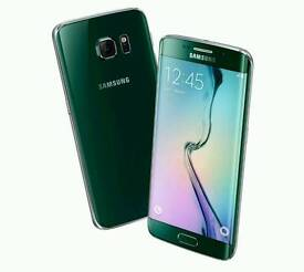 Samsung Galaxy S6 Edge 32GB Emerald Green Limited Edition Boxed Any Sim 3G 4G Px Swap Iphone Try Me