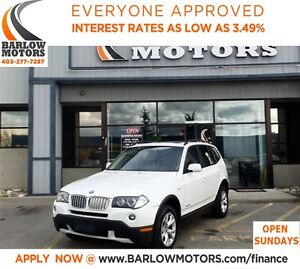 2009 BMW X3 xDrive30i**AMVIC INSPECTION &CARPROOF PROVIDED!