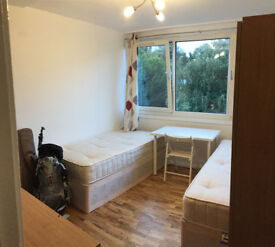 Brand new Twin room available by GYM+Free Parking by Putney-Fulham-Richmond-Hammersmith